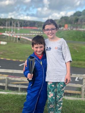 Thomas gets his 1st podium at Rowrah